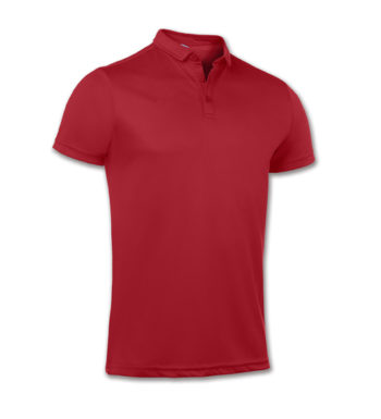 UNISEX CLARET RED POLO WHITE EMBROIDERY